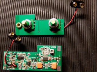 Photo showing potentiometer mounting.